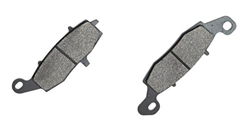 CNBK Front Left Brake Shoe Pads Semi-met for KAWASAKI Street Bike EX650 EX 650 Ninja EX650 ECF EDS Non ABS 12 13 14 15 2012 2013 2014 2015 1 Pair(2 Pads)