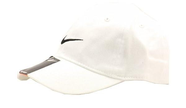 16adb514b Nike 2T-4T Embroidered Swoosh Baseball Cap (White): Amazon.ca ...