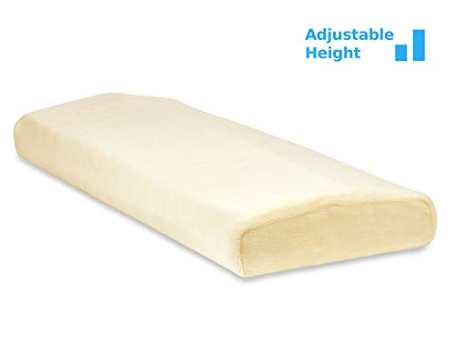 Trucontour Super Lumbar Pillow For Sleeping Adjustable Height Support The Lower Back In Bed