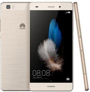 Huawei P8 Lite ALE-L21 16GB Gold, Dual Sim, 5-Inch, Unlocked Smartphone, International Stock, No Warranty, GSM ONLY, No CDMA]()