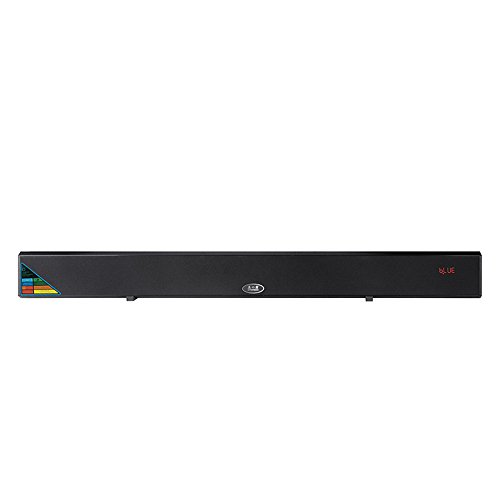 Soundbar Sound Bar Wired and Wireless Bluetooth Audio with 60 Watt Speaker,  Length 37inch with EQ, Remote Control, Wall Mountable Home Theater System