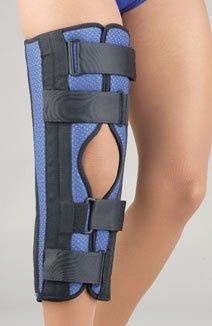 FLA Orthopedics Fla 37-616006 Breathable Universaltri-Panel Foam Knee Immobilizer, Blue ()
