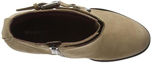 Marc O'Polo High Heel Bootie - botas de cuero mujer gris - Grau (717 taupe)