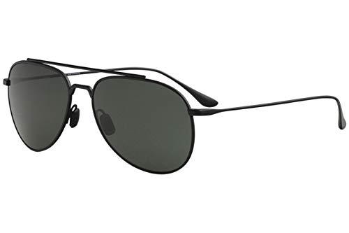Vuarnet Swing Pilot VL1627 1627 0001 Mt Black Titanium Polarized Sunglasses ()