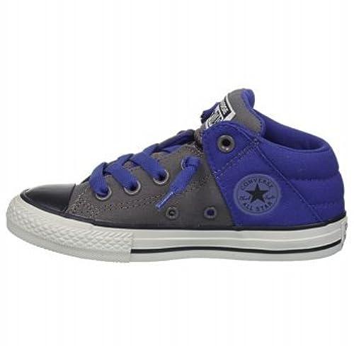 7b63e6559d629 Converse Grey Chuck Taylor All Star Axel Mid-Top Sneakers - Boys 12 ...
