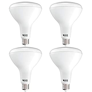 Sunco Lighting 4 Pack BR40 LED Bulb, 17W=100W, Dimmable, 4000K Cool White, E26 Base, Indoor Flood Light for Cans - UL & Energy Star
