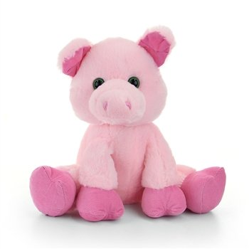 Floppy Friends Pig Stuffed Animal by First and Main Floppy Pig