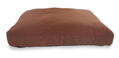 NAP Pet Bed Snuggle Terry and Suede Deluxe Pet Pillow, Espre