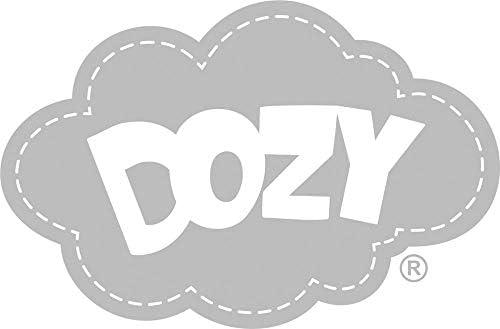 Dozy Couette pour bébé en duvet d'oie chaude et toute saison Motif cygne nordique 70 x 100 cm