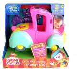 - Let's Get Moving Clown Car Play Set with Goliath Figure from Disney's JoJo's Circus