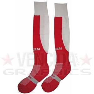 Rugby Nations Tri - SAMURAI tri nations socks [red/white] - Junior