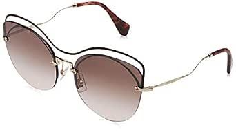 Miu Miu Aviator Women'S Sunglasses - 50Ts R1J/Qz9-60 -17-145 Mm - Brown