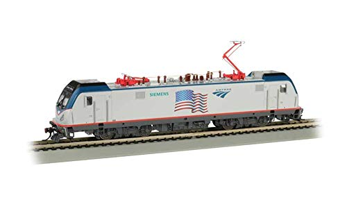 (Bachmann Trains 67404 Siemens ACS-64 DCC Sound Equipped Locomotive - Amtrak - Flag Demo - HO Scale, Prototypical)