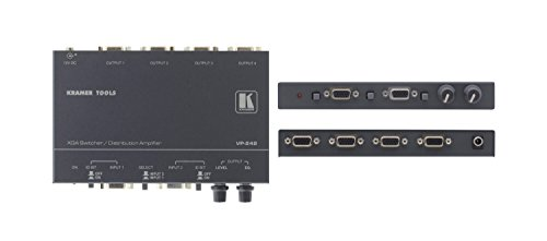Kramer VP-242 2x1:4 Computer Graphics Video Switcher ()