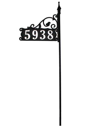 Large Reflective Address Yard Sign- Jumbo 6