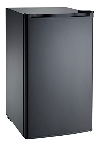 RCA RFR321-Black FBA Black RFR321 Mini Refrigerator, 3.2 Cu Ft Fridge, CU.FT