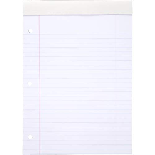 (Mead 59872 Legal Pad, Wide Rule, 70 Sheets, 8-1/2