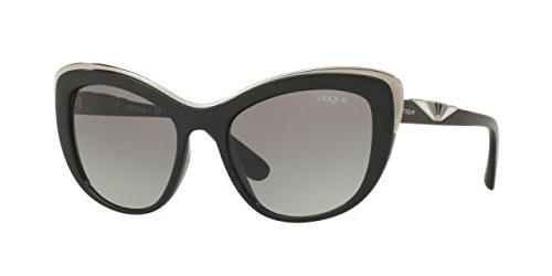 Vogue Eyewear Womens Sunglasses (VO5054) Black/Grey Plastic - Non-Polarized - - Sunglasses Men Vogue