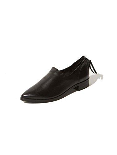 Casuales ZFNYY Puntiagudos Abuela Planas Zapatos Zapatos Gruesos Zapatos con affU5w