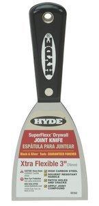 8-1/4''Lx3''W HCS Black & Silver SUPER FLEXX Joint Knife