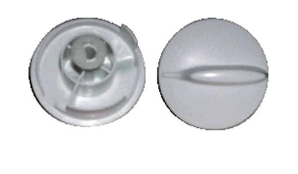 Mando microondas Whirlpool blanco eje 6mm 481941338144 ...