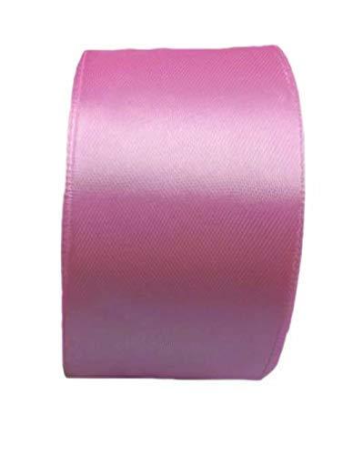 GOYAL® Satin Car Ribbon 30 Yards Length for Decoration, Birthday, Wedding, Gift Packing Purpose and Wedding Car Decoration - Set of 5 - Baby Pink