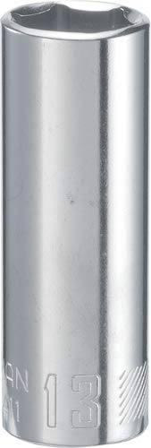 CRAFTSMAN Deep Socket, Metric, 1/4-Inch Drive, 13mm, 6-Point (CMMT44411)