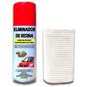 SANMARINO ELIMINADOR DE RESINA DE Á RBOL SPRAY 520 CC. + BAYETA