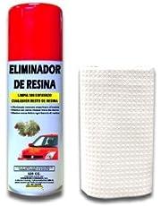 SANMARINO ELIMINADOR DE RESINA DE ÁRBOL SPRAY 520 CC. + BAYETA