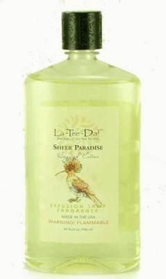 La-Tee-Da Effusion and Fragrance Lamp Oil Refills - 32 oz - SHEER ()