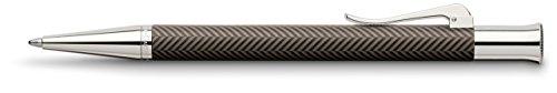Graf Von Faber-Castell Brown Guilloche Ciselé Ballpoint Pen