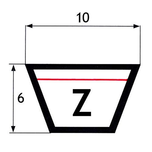 Cinghia trapezoidale Z41.5 mm 10x6x1050