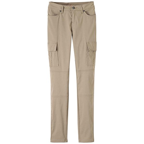 prAna Women's Meme Pants, Dark Khaki, 10