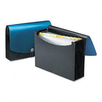 Smead® 12-Pocket Poly Expanding File FILE,EXP,POLY,13PCKT,BBK 312483 (Pack of10)