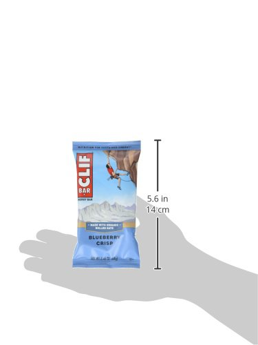 Large Product Image of CLIF BAR - Energy Bar - Blueberry Crisp - (2.4 Ounce Protein Bar, 12 Count)