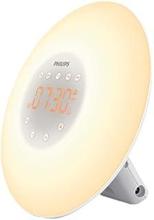 Philips Despertador HF3520/01 - Despertador de Luz LEZ ...