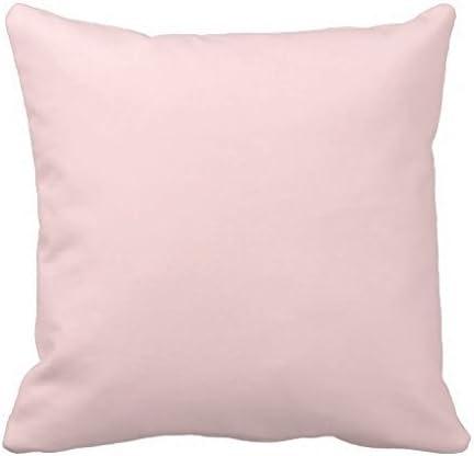 Pastel Pink 2 Throw Pillow Case: Amazon