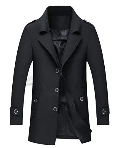 De Pois Capuche Pour Kangqi Vestes Black Croisées Hommes À Vêtements x5qX8aXwY