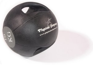 Agarre doble balón medicinal - 10 kg: Amazon.es: Deportes y aire libre