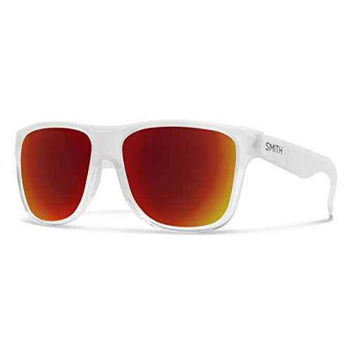 Smith Optics Mens Cheetah XL Lifestyle Sunglasses Crystal Split/Carbonic Red - Sunglasses Cheetah Smith