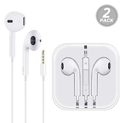 Headphones/Earbuds/Earphones, Super premium in-Ear Wired Earphones with Remote & Mic Compatible with iOS Devices 6s/plus/6/5s/se/5c/iPad/MP3/Android model