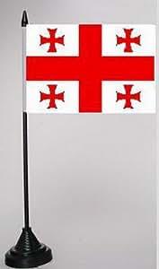 Mesa con Escritorio Bandera Georgia 10x 15cm