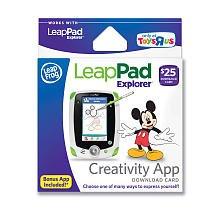 leappad explorer creativity app card