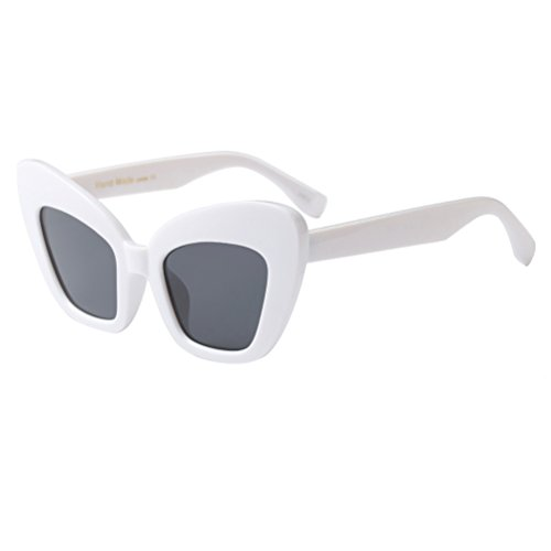 Zhuhaitf De Lunettes Hommes Soleil Style5 UV400 Protection White De Vintage Unisexe Rétro Ombres Femmes 6xFYwgr6Wq