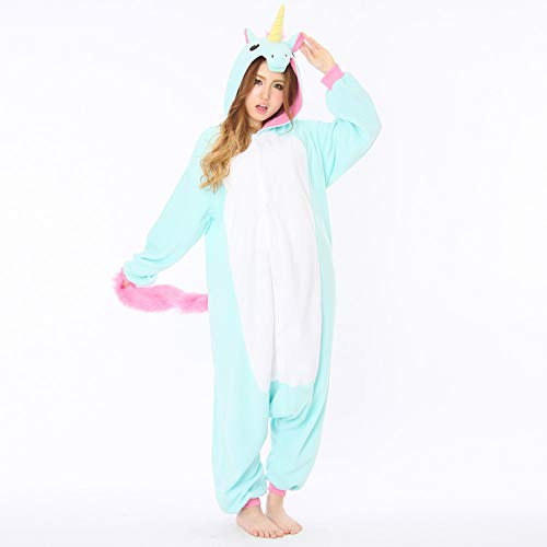 Blue Unicorn Kigurumi - Adult Costume ()