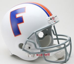 Florida Gators 1966 Throwback Riddell Full Size Deluxe Replica Football Helmet (Florida Gators Throwback Helmet)