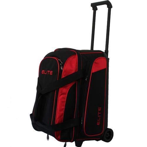 Elite Deuce 2 Ball Rolling Bowling Bag - Red