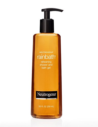 Neutrogena Rainbath 8.5 Ounce Shower Bath Gel 250ml 3 Pack