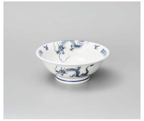 Dance DRAGON 21.5 cm Large Ricebowl Porcelain by Watou.asia