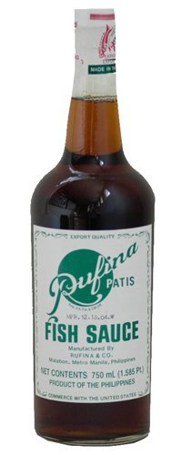 Pufina Patis Fish Sauce - 25 oz.
